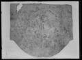 Vojlock av gul filt. Bakre kanten rundad, främre kanten rak - Livrustkammaren - 52004.tif