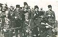 Vojvoda Andjelko Adamovic sa grupom cetnika i partizana 1941.jpg