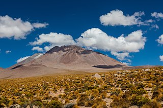 Aucanquilcha mountain in Antofagasta Region Chile