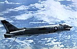 Vought RF-8A Crusader of VFP-63 Det. L in flight, circa in 1966.jpg