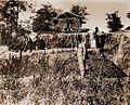 Vršac museum artefacts, Felix Milleker at Vatin archeological dig 1893.jpg