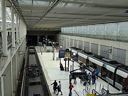 Vue d'ensemble de la gare de l'Aéroport CDG 2