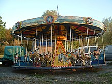 Photograph of a carousel