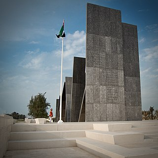 Monument in Abu Dhabi