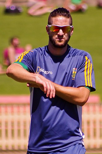 Islam in South Africa - Wayne Parnell, cricketer with the South African team, converted to Islam in January 2011