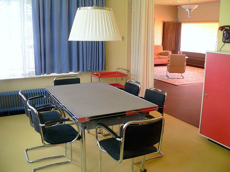File wlanl adfoto eetkamer in huis sonneveld meubels wikimedia commons - Meubels set woonkamer eetkamer ...