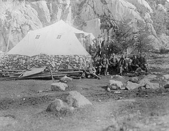 Field hospital - Italian Army Field hospital on the Italian Front during World War I