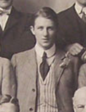 William Joseph Ashby - W J Ashby with the British Isles rugby union team, 1910