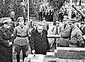"""W Kleinfeldt - Einmauern des Grundsteins des """"Hauses der Jugend"""" 20.10.1935 (TJiG11).jpg"""