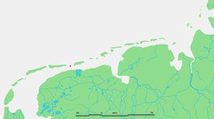 Engelsmanplaat - Location of Engelsmanplaat in the Wadden Sea