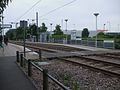 Waddon Marsh tramstop western entrance.JPG