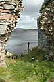Waiting on the storm to abate on Lochindorb. - geograph.org.uk - 564616.jpg