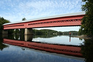 Wakefield, Quebec - Covered bridge