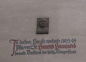 Heinrich Hansjakob - Exhibition at his residence in Waldshut