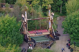 Walibi World - Excalibur overview cropped.JPG