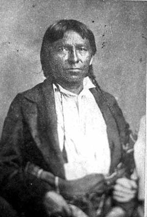 Wapasha III - Wapasha, c. 1860.