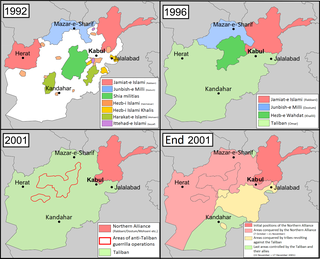 Afghanistan conflict (1978–present) Armed conflicts in Afghanistan