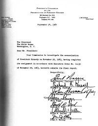 Warren Commission Report - Wikipedia