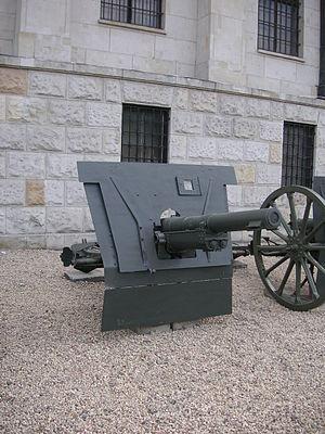 Canon de 75 modèle 1914 Schneider - Image: Warsaw Canon de 75 modele 1914 Schneider 1