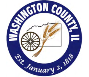 Washington County, Illinois - Image: Wash Co IL Seal in Color and Higher Quality