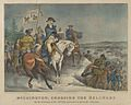 Washington, Crossing the Delaware–On the Evening of Dec. 25th 1776, previous to the Battle of Trenton. MET DP853567.jpg
