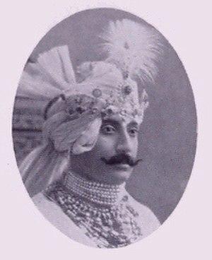 Wasif Ali Mirza - Nawab Sir Wasif Ali Mirza Khan Bahadur of Murshidabad.
