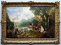 Watteau, pellegrinaggio all'isola di citera, 1717, 01.JPG