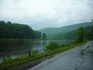 Wawaka Lake lake in Delaware County, New York, USA