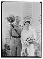 Wedding, Mr. Paton & Sister Sloan, June 23, '43 LOC matpc.14257.jpg
