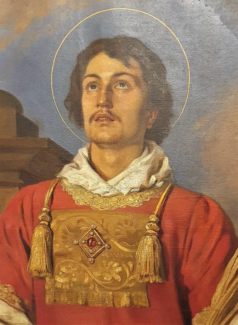 Wenzel Schwarz Gemälde Hl. Laurentius 02.jpg