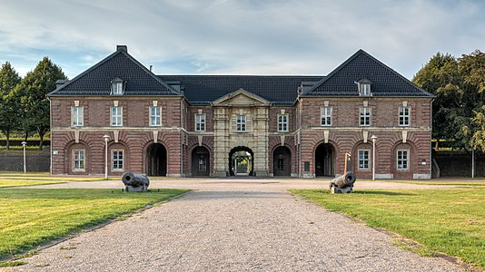 Citadel in Wesel, North Rhine-Westphalia, Germany