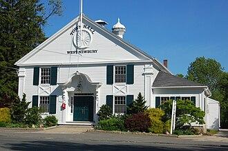 West Newbury, Massachusetts - West Newbury Old Town Hall, 2009