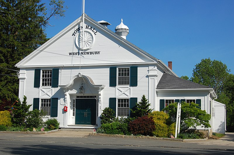 Fitxer:West Newbury Town Hall.JPG