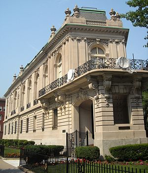 Ernest Sanson - International Temple (Belmont House), Washington, DC, 1900
