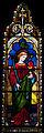 Wexford Church of the Assumption South Aisle Window St John the Evangelist 2010 09 29.jpg