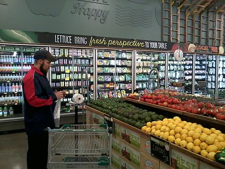 The produce department of a new Whole Foods Market located in the Southern Hills area of Tulsa, Oklahoma Whole foods produce dept.jpg
