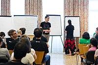 Wikimedia Hackathon Vienna 2017-05-19 Mentoring Program Introduction 028.jpg