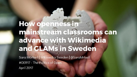 Wikimedian and GLAMs in Swedish classrooms presentation.pdf