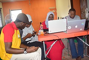 Wikipedians meet up at Ilorin Kwara state 7.jpg
