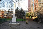 Monument to Daniel Defoe, Central Broadwalk