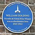 William Golding's Plaque at Bishop Wordsworth's School.jpg