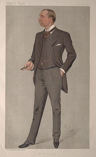 William Hunter Kendal - Caricature by Spy published in Vanity Fair in 1893.