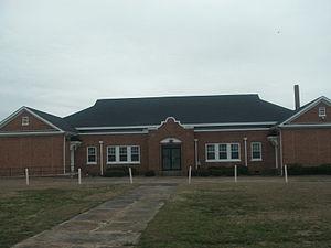 Williamston Colored School - Williamston Colored School in March, 2015
