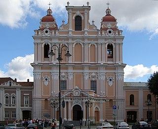 Church of St. Casimir, Vilnius church