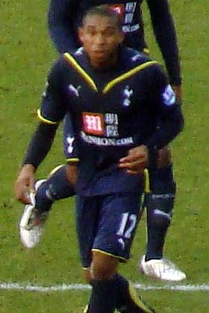Wilson Palacios - Palacios playing for Spurs.