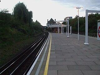 Wimbledon Park tube station London Underground station