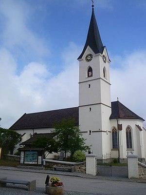 Windhaag bei Freistadt - Image: Windhaag Kath. Pfarrkirche St. Stephanus