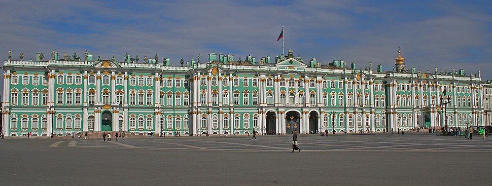 Winter Palace SPB from Palace Square