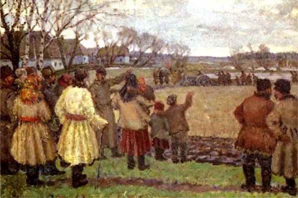 Wladimir Gawriilowitsch Krikhatzkij - The First Tractor