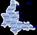 Województwo pomorskie pomeranian voivodeship in 1930 with names.png